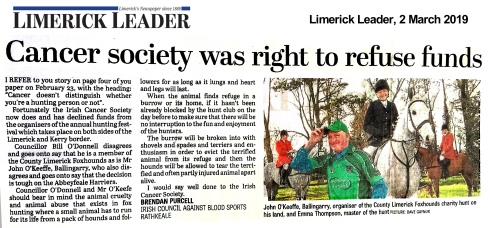 limerick leader 2 March 2019 letter.jpg