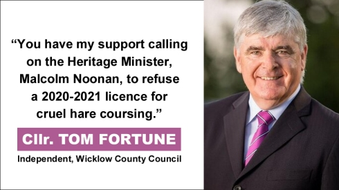 Cllr. TOM FORTUNE