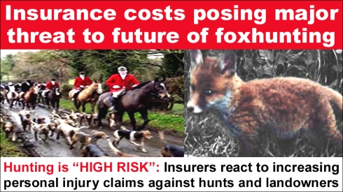 insurance costs posing major threat to future of foxhunting copy